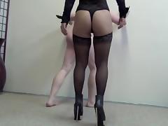 Asian Mistress Ayal Hard Ballbusting tube porn video