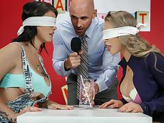 Nicole Aniston & Peta Jensen & Johnny Sins in Game Night Shenanigans - Brazzers tube porn video