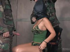 female spy was captured by military tube porn video