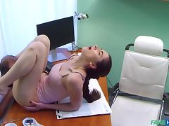 Aruna in Russian babe wants Doctors cum - FakeHospital tube porn video