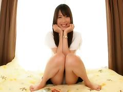 Smoking hot Mana Haruka enjoys having her Asian cunt pummeled tube porn video