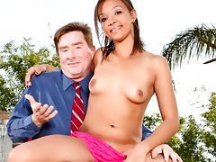 Jorani James in My New White Stepdaddy #02, Scene #03 tube porn video