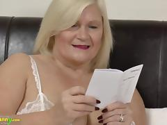 OldNanny mature Lacey Star bought new sex doll tube porn video