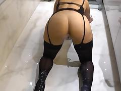 Enema milking tube porn video