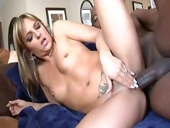 Incredible pornstars Madelyn Marie and Lexi Love in amazing big tits, brunette adult movie tube porn video