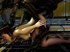 Alien fuck 13 tube porn video