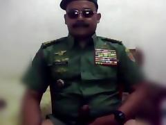 Hot moustache army officer daddy in uniform part 5 tube porn video