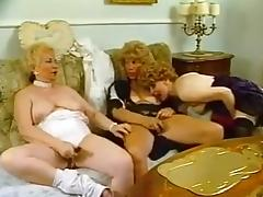 Three hairy grannies playing with each other tube porn video