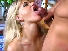 Fabulous pornstars Angela Stone, Vicky Vette and Leah Luv in incredible blonde, big dick sex clip tube porn video