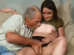 Sexy college girl Fucks uncle Till daddy Comes Home ! tube porn video