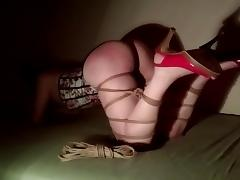 Shibari spanking tube porn video