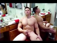 Big dick muscle solider gets serviced ( blowjob jo   cum ) tube porn video