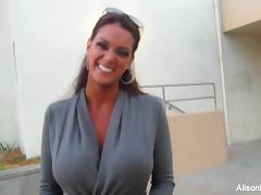 Alison Tyler talks about her fitness competition tube porn video