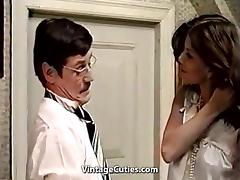Cute Latina Maid and Her Filthy Boss (1970s Vintage) tube porn video