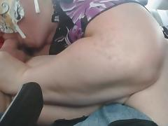 Hwy Backseat BJ and Swallow Part 7 of 7 tube porn video