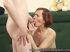 Russian mature anal with boy tube porn video