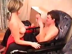 Russian mom Angela with her boy 2 tube porn video