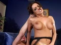 Horny pornstar Francesca Le in incredible brunette adult movie tube porn video