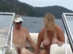 Sharing wife on the boat tube porn video