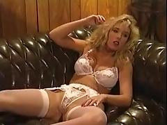 Victoria paris in white lingerie  fucks Peter North tube porn video