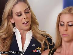 Girlsway Alexis Fawx Spanked by Officer Cherie tube porn video