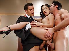 Kristina Rose & Charles Dera & Ramon in Judge Jury And Double Penetrator - Brazzers tube porn video