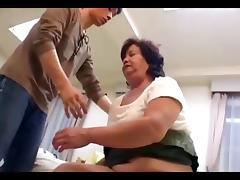 Hairy bbw japanese granny loves taboo tube porn video