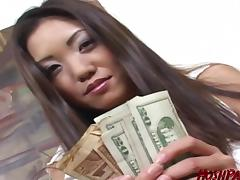 Housewife Kaiya needs cash, to get her man a birthday gift! tube porn video