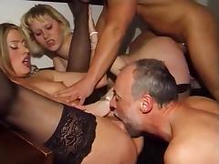 Kinky Austrian Anal Orgy tube porn video