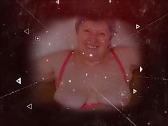 OmaHoteL Naked Couple and Granny Toys Threesome tube porn video