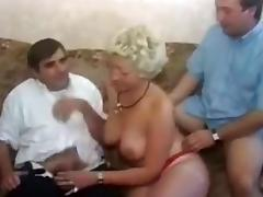 Crazy Homemade movie with Threesome, Double Penetration scenes tube porn video