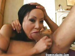 Big tit MILF fucked hard by young cock tube porn video