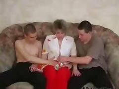 Russian Mature Fucking With Two Young On The Couch russian cumshots swallow tube porn video