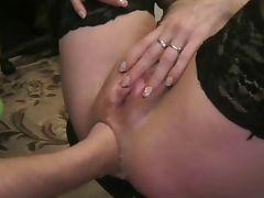 german amateur anal fisting tube porn video