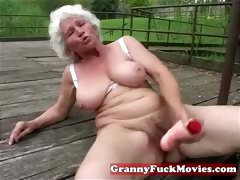 Check out this dirty grandma tube porn video