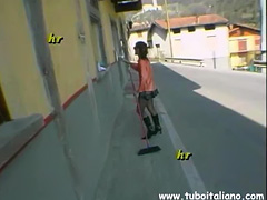 Italian Mature Porter Portinaia Scopata tube porn video
