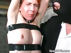 Slutty tied redhead gets with hot body part2 tube porn video