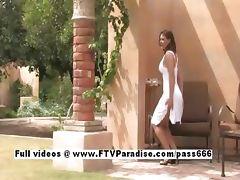 Liora tender chubby woman flashing tube porn video