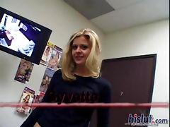 Syvette loves to swallow tube porn video