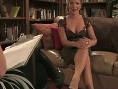 Busty waitress punished tube porn video