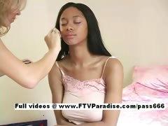 Farah funny stunning babe posing tube porn video