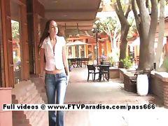 Carina Tender Girl Flashing In Public tube porn video