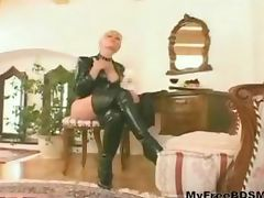 Blondy bdsm bondage slave femdom domination tube porn video