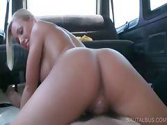 Blonde stunner working horny pecker tube porn video