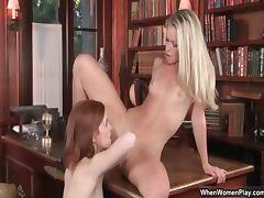 Two super hot brunette lesbians get part2 tube porn video