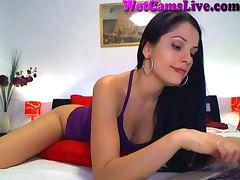 Hot Brunette Webcam Girl In The Shower Part 1 tube porn video