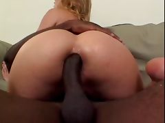 Blond With Big Boobs Sucks And Fucks Big Black Dick tube porn video