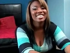 High Class Ebony Slut Blowing Two Cocks tube porn video