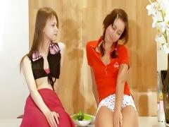 Two croatian chicks Natasha and Beata tube porn video