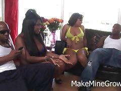 Chubby Ebony Want A Group Sex tube porn video